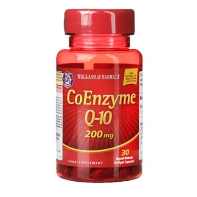 Coenzyme Q10 200 mg 30 capsules Holland & Barrett / Коензим Q10 200 мг 30 капсули Holland & Barrett