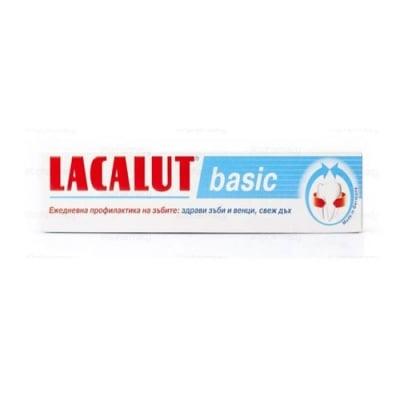 Lacalut Basic thootpaste 75 ml / Паста за зъби Лакалут Basic 75 мл