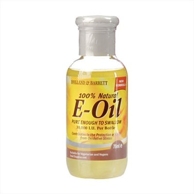 Vitamin E oil 30000 I.U. liquid 75 ml Holland & Barrett / Витамин Е 30000 I.U. течен 75 мл Holland & Barrett