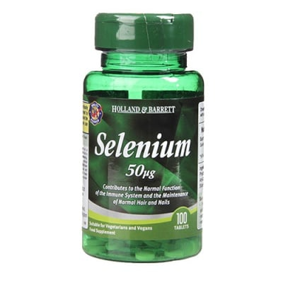 Selenium 50 mcg 100 tablets Holland & Barrett / Селен 50 мкг 100 таблетки Holland & Barrett