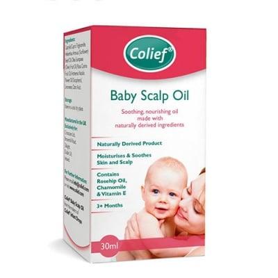 Colief bay scalp oil 30 ml /  Колийф овлажняващо и успокояващо олио за бебешка кожа и скалп 30 мл