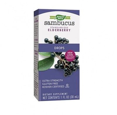 Sambucus drops 30 ml Nature`s way / Самбукус капки 30 мл Nature`s way