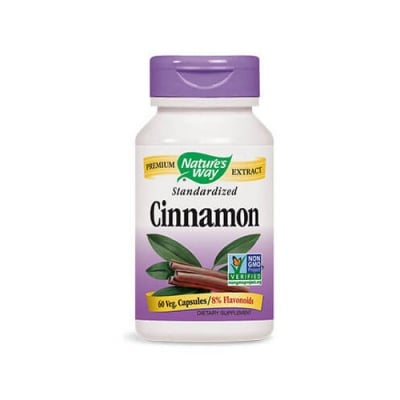 Cinnamon 500 mg 60 capsules Nature`s way / Канела 500 мг 60 капсули Nature`s way