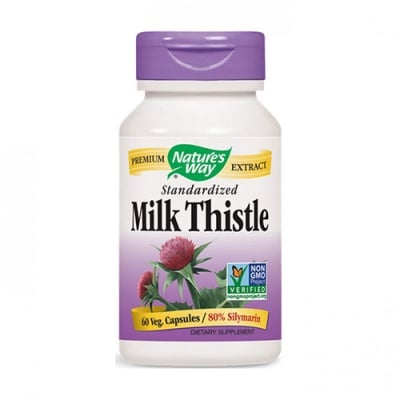 Milk thistle 295 mg 60 capsules Nature`s way / Млечен бодил 295 мг 60 касули Nature`s way