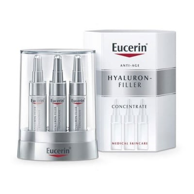 Eucerin Hyaluron Filler Concentrate 6 ampoules x 5 ml. / Еуцерин Хиалурон Филър концентрат 6 ампули x 5 мл.