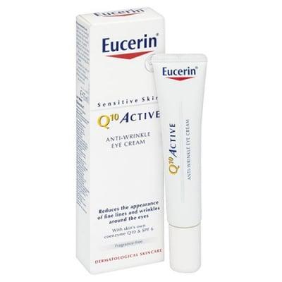 Eucerin Q10 Active Anti-Wrinkle Eye cream 15 ml. / Еуцерин Q10 Active Околоочен крем против бръчки 15 мл.