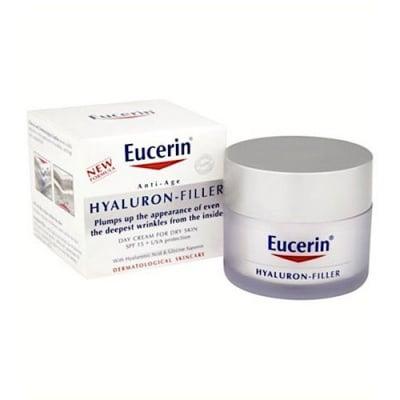 Eucerin Hyaluron Filler Day cream 50 ml. / Еуцерин Хиалурон Филър Дневен крем за суха кожа 50 мл.