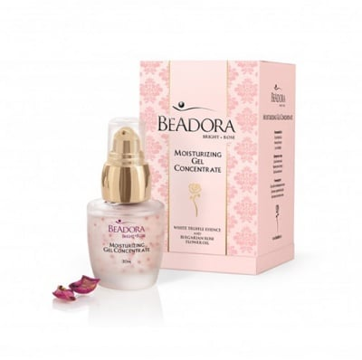 Beadora bright rose moisturizing gel concentrate 30 ml / Беадора брайт роуз овлажняващ гел - концентрат 30 мл