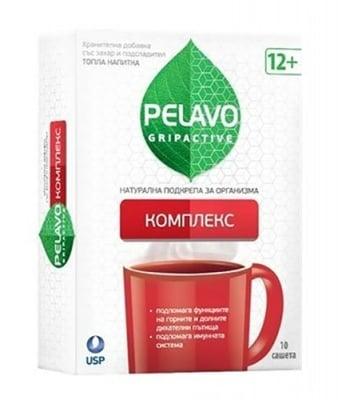 Pelavo gripactive complex 10 sachets / Пелаво Грипактив комплекс 10 сашета