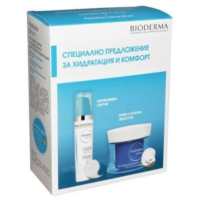 Вioderma Hydrabio set - intensive moisturising serum 40 ml + Rich moisturising cream 50 ml / Биодерма Хидрабио комплект - Хидратиращ серум 40 мл + Хидратиращ богат крем 50 мл