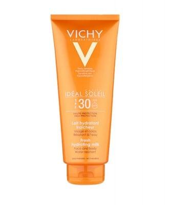 Vichy Soleil SPF30  face and body milk 300 ml / Виши Солей хидратиращо мляко за лице и тяло за цялото семейство SPF30 300 мл