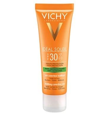 Vichy SPF 30 anti- blemishes mattifying corrective care 50 ml / Виши Солей крем против несъвършенства с SPF 30 50 ml
