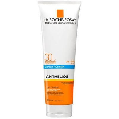 La Roche Anthelios SPF 30 sunscreen milk 250 ml / Ла Рош Антелиос комфорт SPF 30 слънцезащитно мляко 250 мл