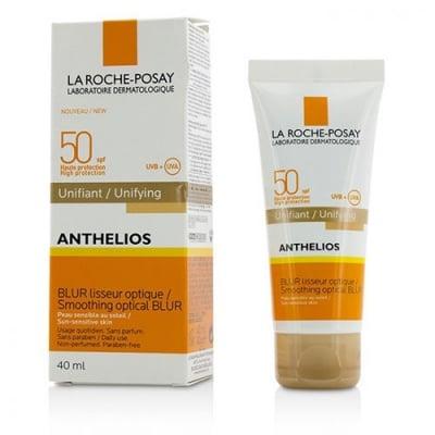 La Roche Posay Anthelios smoothing optical blur unifying SPF 50 pink shade 40 ml / Ла Рош Антелиос SPF 50 слънцезащитен крем за изравняване тена на лицето - розов 40 мл