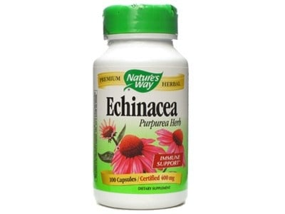 Echinacea 400 mg 100 capsules Nature's Way / Ехинацея 400 мг. 100 капсули Nature's Way