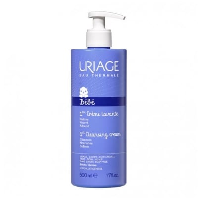 Uriage Lavante baby cleansing and nourishing oil for face, body and scalp 500 ml / Уриаж Lavante измиващо, защитно и подхранващо гел-олио за бебебта и деца 500 мл