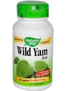 Wild Yam 425 mg 100 capsules Nature's Way / Див ям 425 мг. 100 капсули Nature's Way