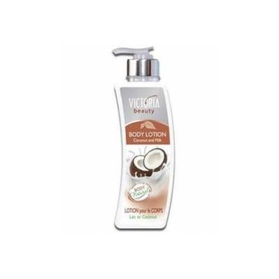Victoria Beauty body lotion with coconut and milk 400 ml / Виктория бюти лосион за тяло кокос и мляко 400 мл