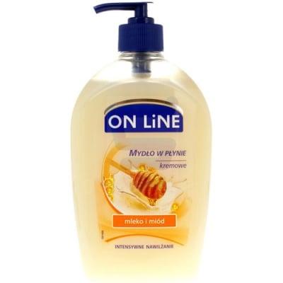 Online Liquid soap milk and honey 500 ml / Онлайн течен сапун мед и мляко 500 мл