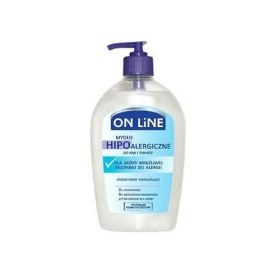 Online Hypoalergenic liquid soap 500 ml / Онлайн Хипоалергичен течен сапун за ръце и лице 500 мл