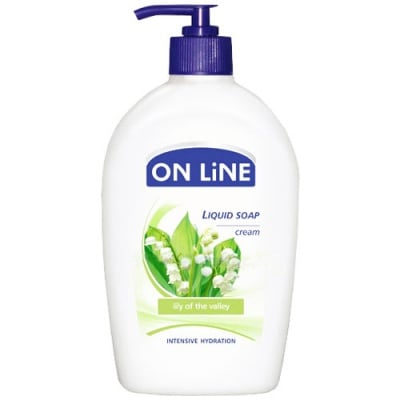 Online Liquid soap Lily of the valley and melissa 500 ml / Онлайн течен сапун момина сълза и маточина 500 мл