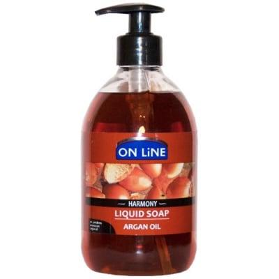 Online Liquid soap with argan oil 500 ml / Онлайн течен сапун с арганово масло 500 мл