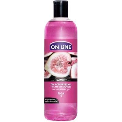 Online bath and shower gel fig 500 ml / Онлайн гел за душ и вана със смокиня 500 мл