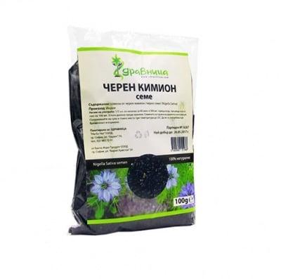 Black cumin seeds 100 g Zdravnitza / Черен кимион семена 100 гр. Здравница
