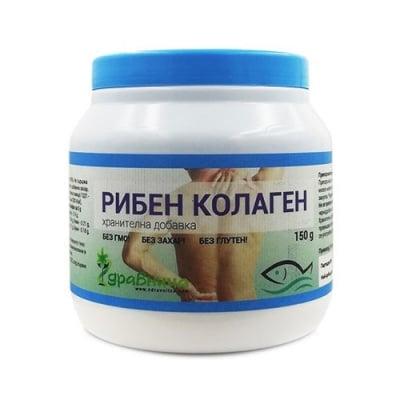 Hydrolized fish collagen powder 150 g Zdravnitza / Хидролизиран рибен колаген 150 гр. Здравница
