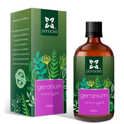 Panacea tincture Geranium 100 ml / Панацея тинктура Гераниум 100 мл