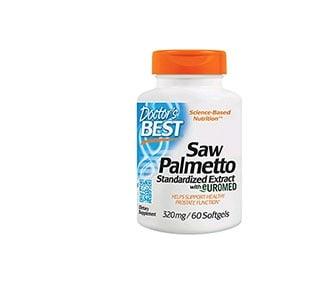 Doctor's Best Saw Palmeto 320 mg. 60 capsules / Доктор'с Бест Сау Палмето 320 мг. 60 капсули