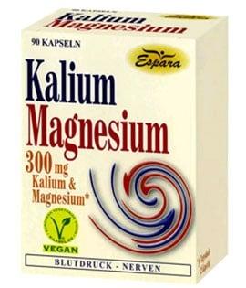 Potassium + Magnesium 90 capsules Espara / Калий + Магнезий 90 капсули Еспара