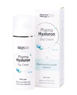 Pharma Hyaluron Rich day cream for dry and very dry skin 50 ml. / Фарма Хиалурон Рич богат дневен крем за лице за суха и много суха кожа 50 мл.