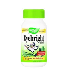 Eyebright 430 mg. 100 capsules Nature's Way / Очанка 430 мл. 100 капсули Nature's Way