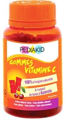 Pediakid Vitamin C gummies 60 / Педиакид Витамин Ц 60 дъвчащи мечета