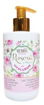 Victoria beauty Rose and Hyaluron body lotion 250 ml. / Виктория бюти Роза и Хиалурон лосион за тяло 250 мл.