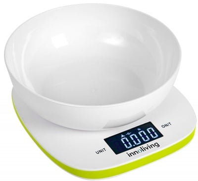 Innoliving Electronic kitchen scale with bowl 132 / Иноливинг Електронна везна с купа 132