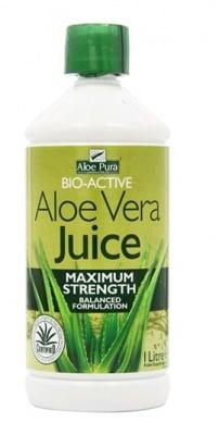 Aloe Pura Aloe Vera juice maximun strenght 1 l. Optima / Алое Вера сок натурал 1 л. Оптима