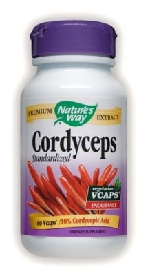 Cordyceps 500 mg 60 capsules Nature's Way / Кордицепс 500 мг. 60 капсули Nature's Way
