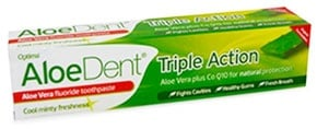 Aloe Dent Triple Action fluoride toothpaste 100 ml. / Паста за зъби Алоедент Трипъл Екшън 100 мл.
