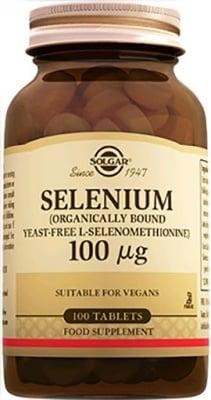 Selenium 100 mcg. 100 tablets Solgar / Селен 100 мкг. 100 таблетки Солгар