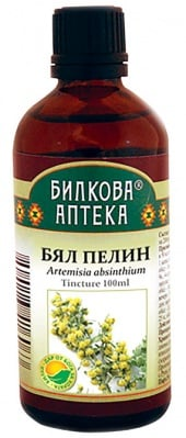 Artemisia Absinthium tincture 100 ml. Herbal Pharmacy / Тинктура Бял пелин 100 мл. Билкова Аптека