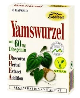 Dioscorea 30 capsules Espara / Диоскорея корени 30 броя капсули Еспара