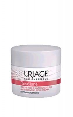 Uriage ROSELIANE Anti-rednes rich cream 40 ml. / Уриаж ROSELIANE Богат крем за суха чувствителна кожа 40 мл.
