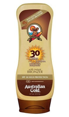 Australian gold lotion with instant bronzer SPF 30 237 ml. / Аустралиан голд лосион с бронзант SPF 30 237 мл.