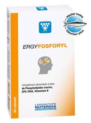 Ergyfosforyl 60 capsules Nutergia  / Ержифосфорил 60 капсули