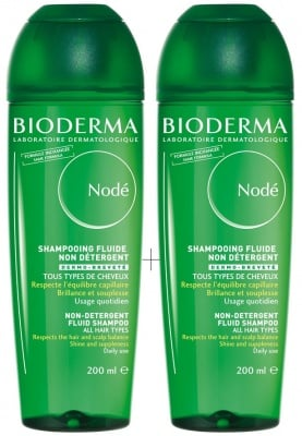 Bioderma Node Set fluide shampoo 200 ml 2 pcs. / Биодерма Ноде Комплект шампоан флуид 2 броя 200 мл.
