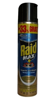 Raid aerosol max blue 400 ml / Райд аерозол макс син 400 мл.