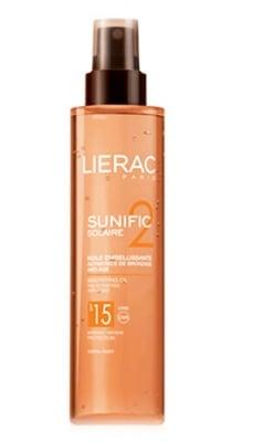 Lierac Sunific huile embellissante SPF 15 125ml. / Лиерак Сънифик слънцезащитно масло за тяло SPF 15 125 мл.