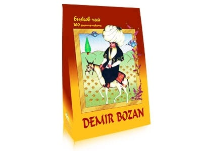 Herbal tea Demir Bozan filter 100 / Билков чай Демир Бозан филтър 100 бр.